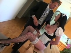 maid eats ass @ butthole whores #05