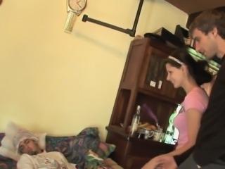 Cuckolding girlfriend humiliates cheating bf