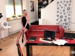 EXPOSED CASTING - Hot audition sex with Czech Vinna Reed