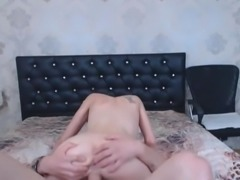 Horny Pretty Babe Got Shaved Pussy Fucked