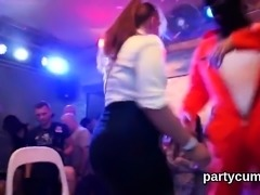 Kinky girls get totally wild and undressed at hardcore party