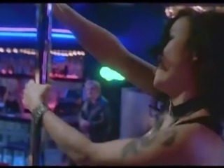 Jennifer Tilly Pole Sexy Dance Scene In Dancing At The Blue