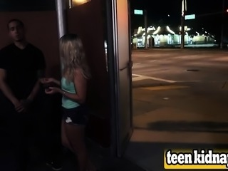 Teen Valerie White Taken And Pounded In Public