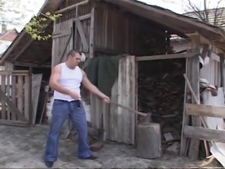 Blonde BBW-Milf fucked Outdoors