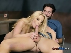 Cute Chick Ashley Fires Enjoys Dicking By Doctor