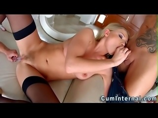 Dpd slut gets creampied