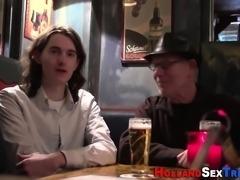 European hooker sucking