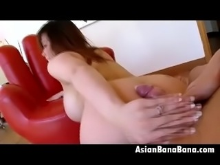 Bendin Over Asian Beauty Tiger Benson Point Of View
