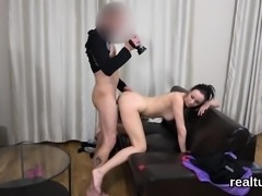 Charming czech girl gets tempted in the mall and pounded in