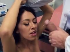 Sexy Patient Kara Faux Has Oral Sex With Doctor