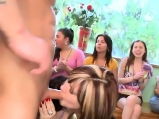 Young pratty girl loves to suck dong publicly