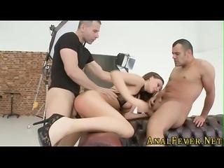 Mouth spermed booty slut
