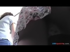 wp-1491197555990  Upskirting voyeur filmed the skinny ass of a blonde gal