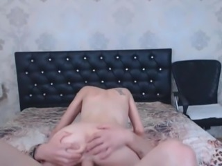 Horny Pretty Babe Got Shaved Pussy Fucked