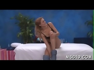 Unfathomable pussy massage for playgirl