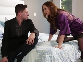latina milf gives a hard and fast handjob