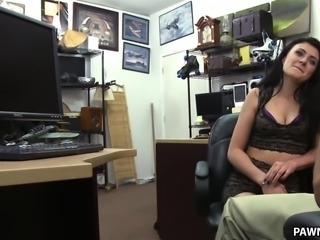 Kallie Joe Fucked at the pawn shop - XXX Pawn