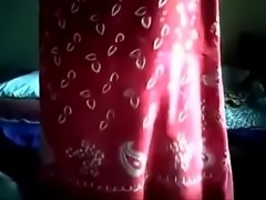 Tamil wife teasing viewers with her hot boobs