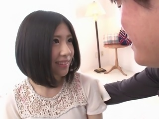 Japanese cutie Nana Hasegawa spreads to get dicked