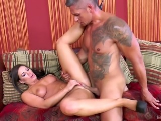 Athina Love bends over for her new friend's pulsating dong