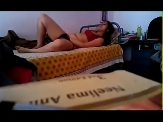 Desi sexy girl selfie mastrubating and showing up on camera