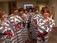 A wild Japanese reality show with many hot, naked chicks