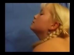 Blond babe russian and fran&ccedil_aise guy (anal extra)