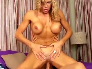 Mega hot MILF takes on massive cock and rides it like a pro