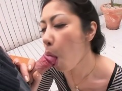 This hot Asian chick masturbates a lot and she is a skilled cocksucker