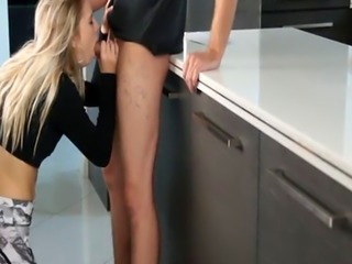 Fit blonde beauty ass fucked