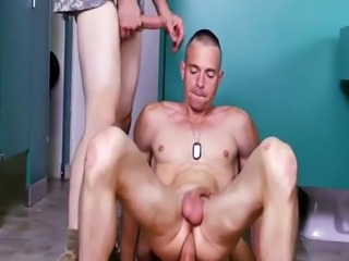 Russian soldiers gay cum Good Anal Training