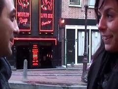 Bigtitted dutch hooker in euro trio sucking
