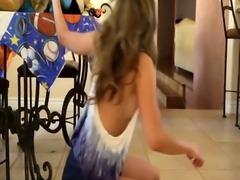 Teen babysitter banged