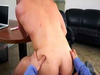 Straight men eating cum for money gay Keeping The Boss Happy