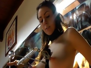 NT babes teasing with their alluring boobs
