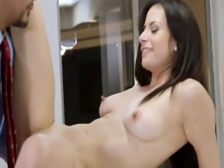 A Thank you sex for Alexis client in the kitchen