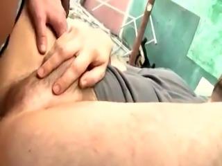 Masculine old man gay porn College Boy