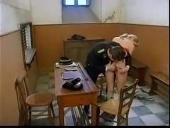Italian Nazi officer fucks girl
