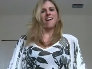 POV sex with blonde girl