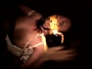 Asian chick with nice boobs is tied and gagged while gettin