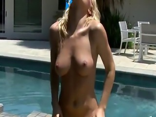 Sexy Blonde In A Bikini
