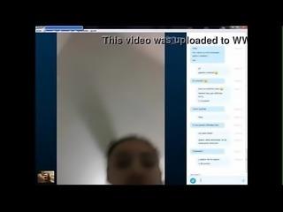 pierdo apuesta y me desnudo para mi amigo en skype