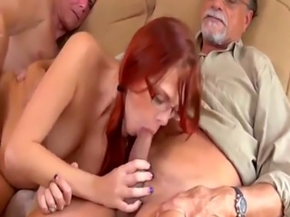 Amateur old guy and young mature s Frannkie And The Gang Take a Trip D