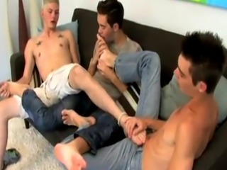 Best gay sex video with school boy and teacher A Threesome Of Boy Feet