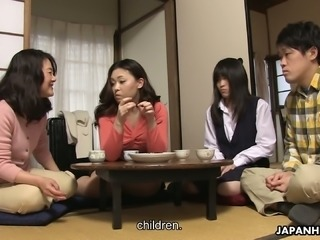 Mai Shimizu is so horny and she loves having her twat licked and fingered