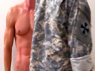 Sexy military men bulging and gay exam videos Extra Training for the
