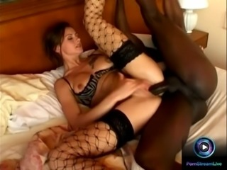 Sexy Angelika Wild tastes small and big black cock