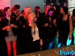 Cfnm party teenager blows