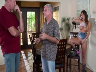 Old dudes fuck young pussies first time Dick went back for seconds and