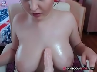 Perfect big titsjob webcam slut show -  camtocambabe.com